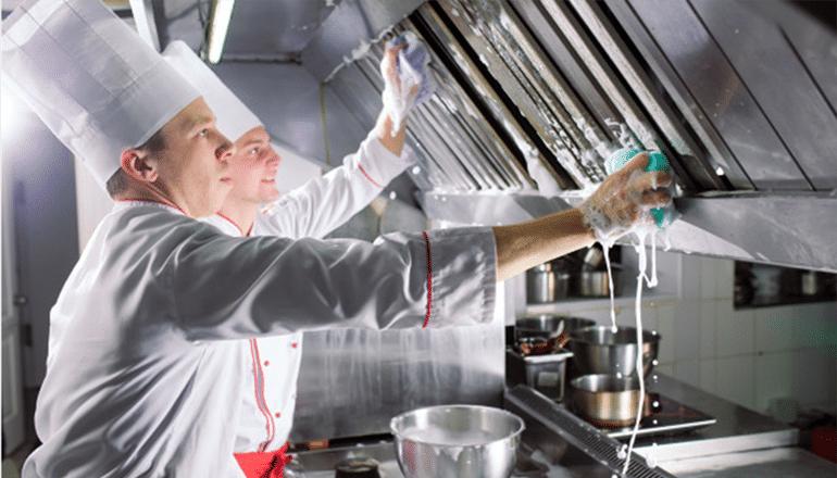 Como limpiar una cocina industrial
