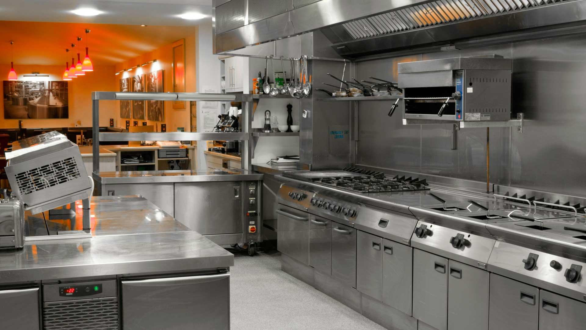 diseño de cocina industrial