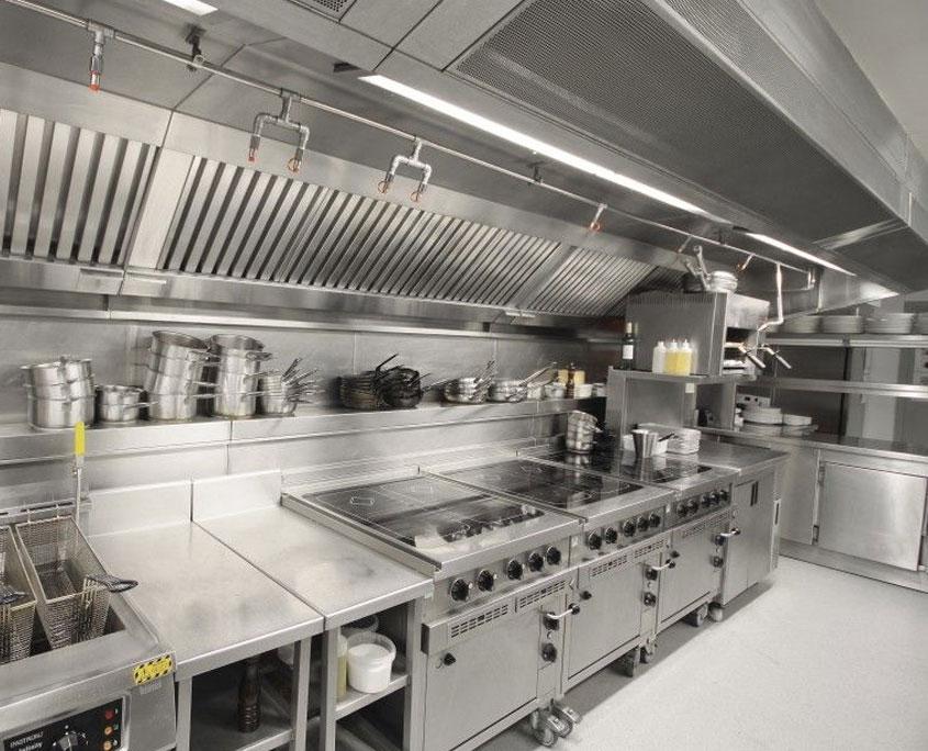 principio de cocinas industriales